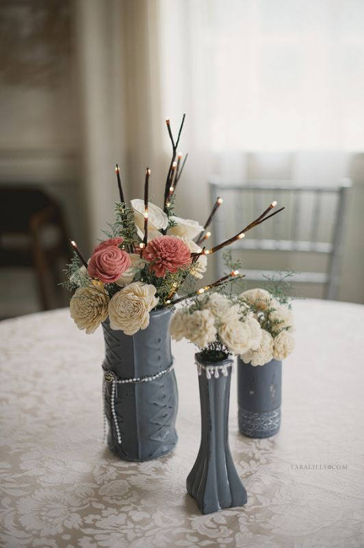 Hmmm. Sola wood flower bouquet. I am so intrigued. I might just make ...