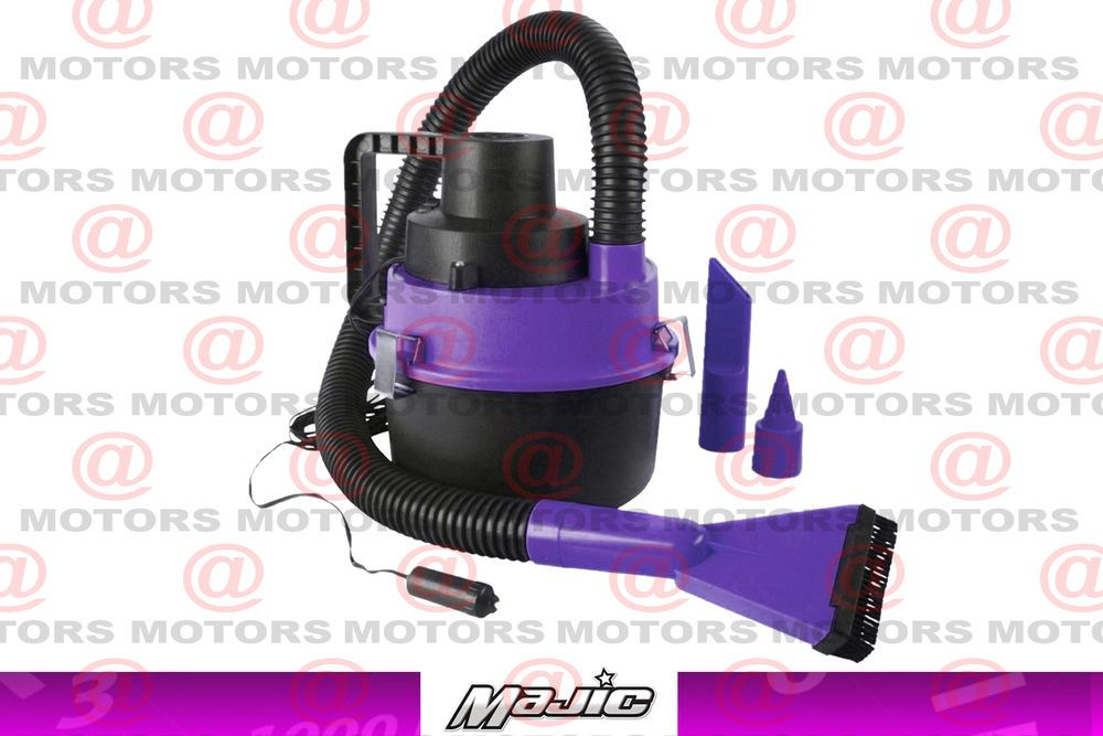 Car Vacuum Cleaner Wet Dry Extra Long Hose And Power Cord Majic 12 Volt 90 Watt Majic Car Vacuum Cleaner Vacuum Cleaner Car Vacuum
