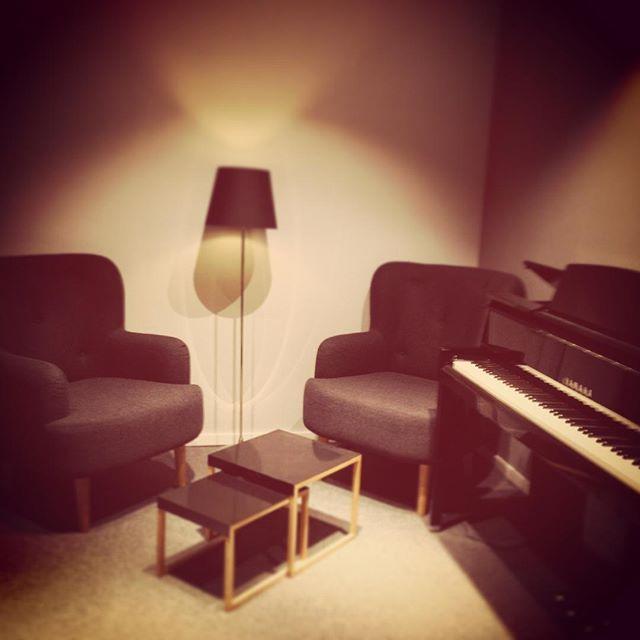 Kaminzimmergefühl bei #sessionfrankfurt Unser gemütlicher #Piano