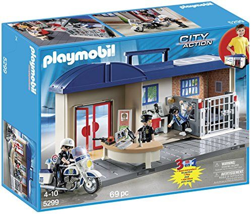 Playmobil Police Take Along Station Toys Games Playmobil Police Station Playmobil Toys