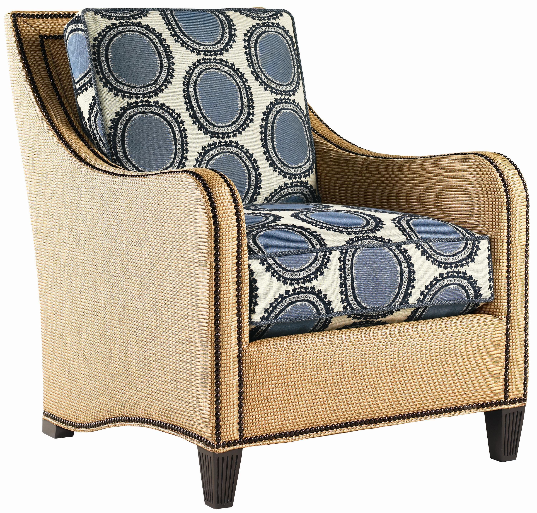 Tommy Bahama Home Royal Kahala Koko Raffia Chair With
