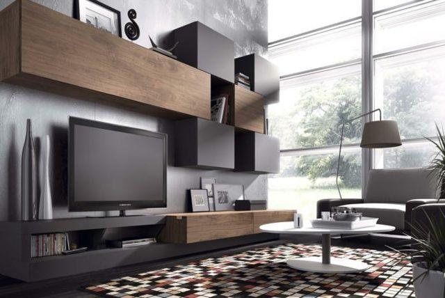 35 idées pour le meuble télé design moderne | Salons, TVs and Tv units