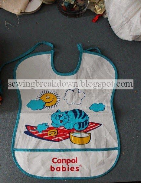 خياطة و تفصيل طريقة خياطة مريلة رضيع بالخطوات Sewing Baby Bibs Baby Steps