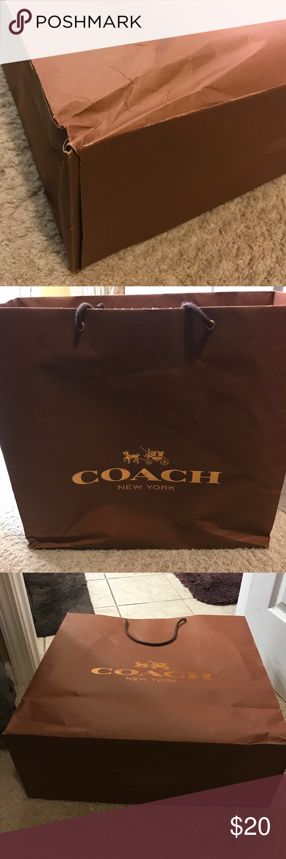 Coach huge bag Plz chk all pictures before I ship Other