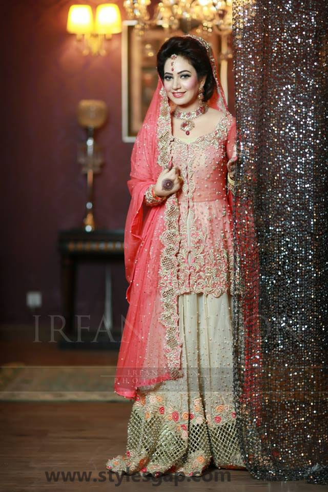 49b97f3d67a Nikkah Day Bridal Wedding Dresses Designs 2018-2019 Collection ...