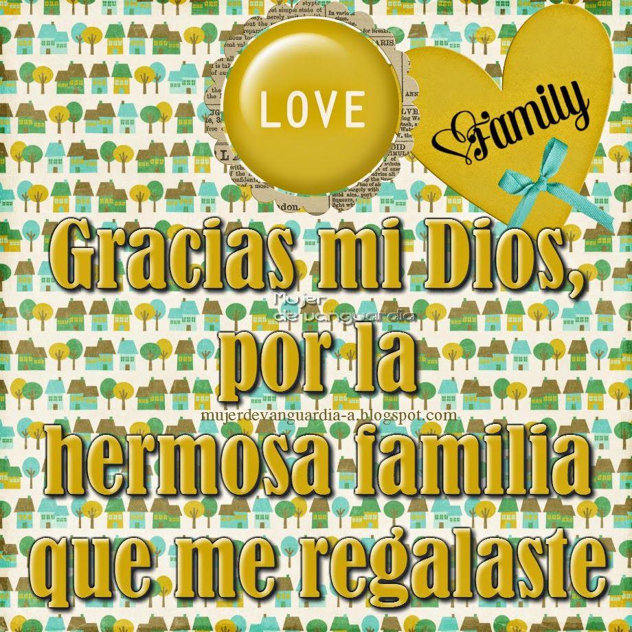 Imágenes Con Frases Gracias Por Mi Familia Gracias Por Mi