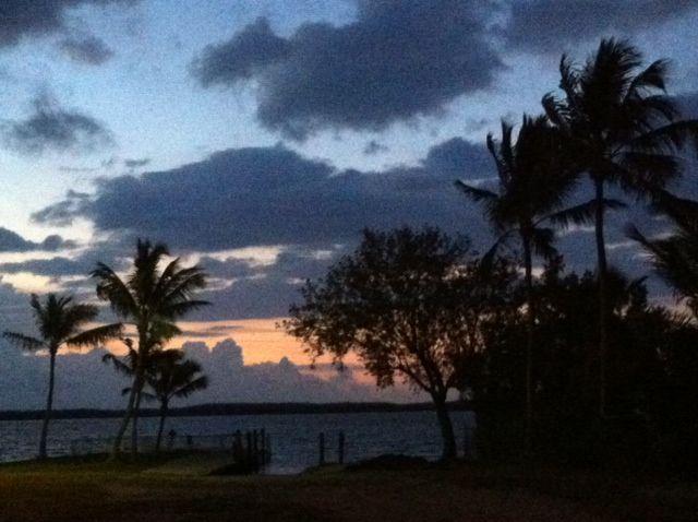 17 April 2014 Key Largo sunrise