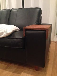 Ikea Kivik Couch Update Ikea Kivik Ikea Couch Sofa Arm Table