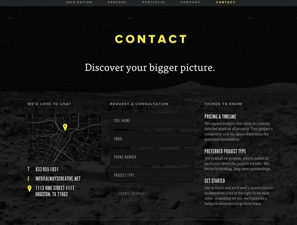 21 Beautiful Contact Pages