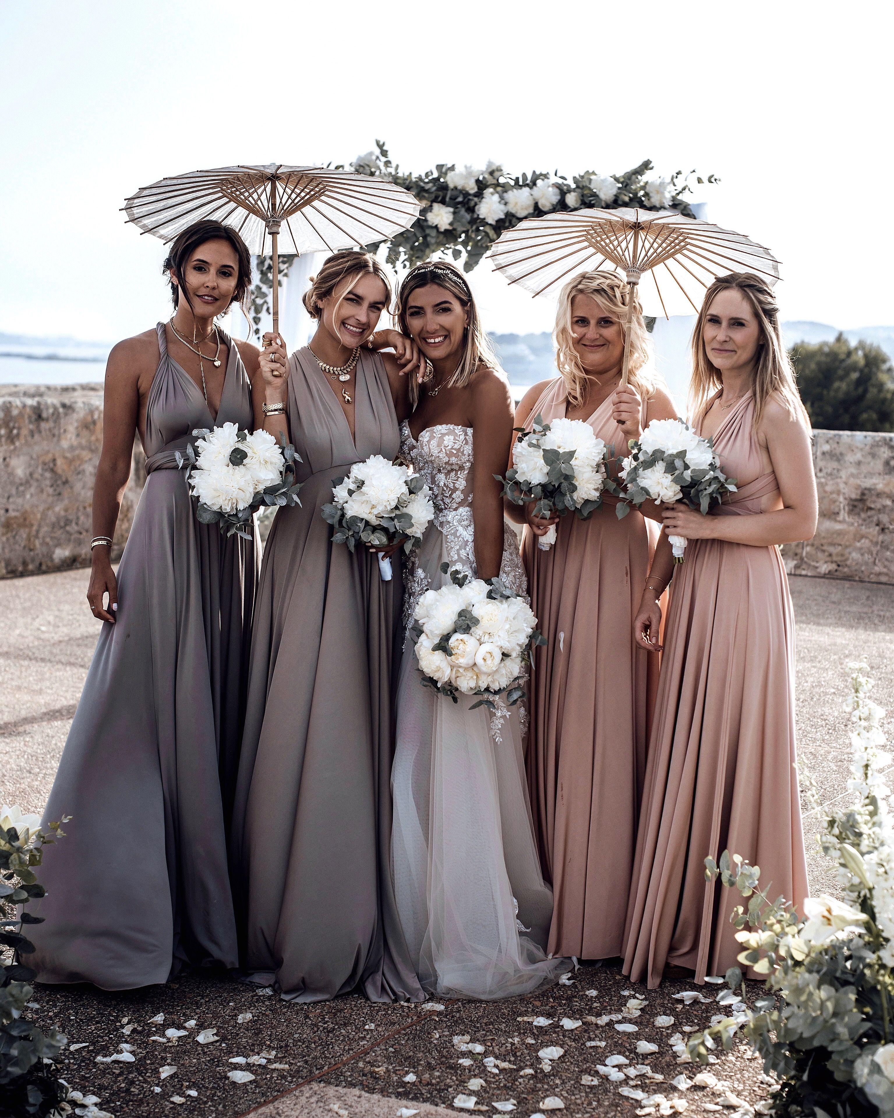 Angelina Muniz Nova two birds dresses | bridesmaids dresses | galia lahav gia