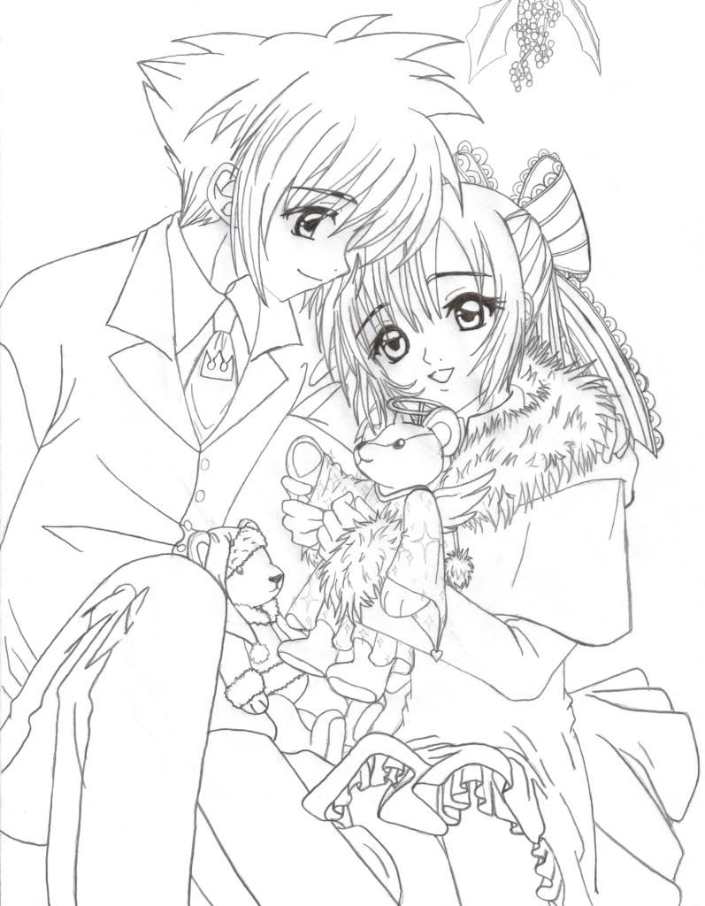 T Shirt Emo Coloring Pages 21 Anime Couple Coloring Pages