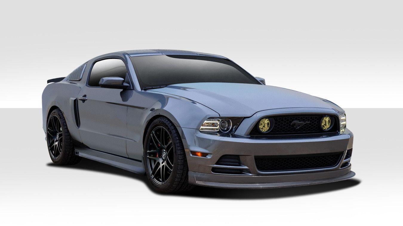 2013-2014 Ford Mustang Duraflex Racer Body Kit - 4 Piece