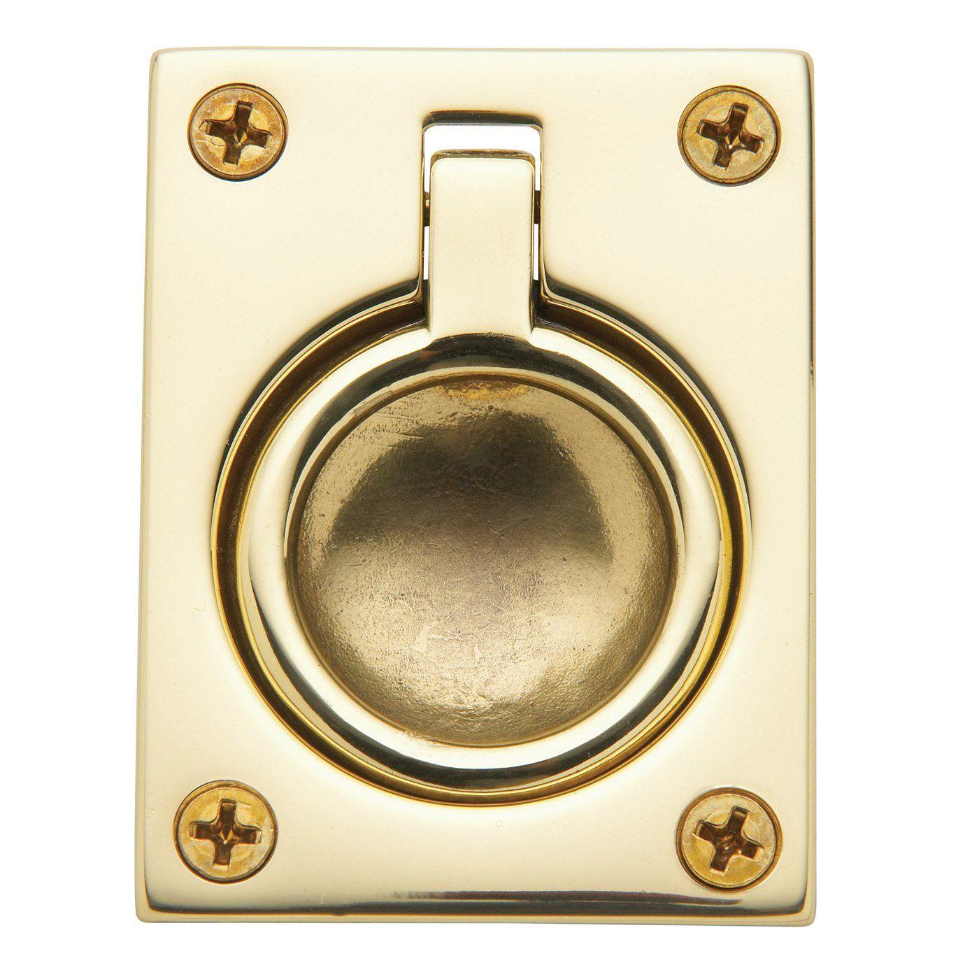 Baldwin Hardware 0394 Flush Ring Pull Pocket Door Hardware