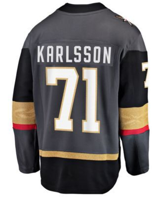067c27ce2ef Fanatics Men's William Karlsson Vegas Golden Knights Breakaway Player Jersey  - Brown XL
