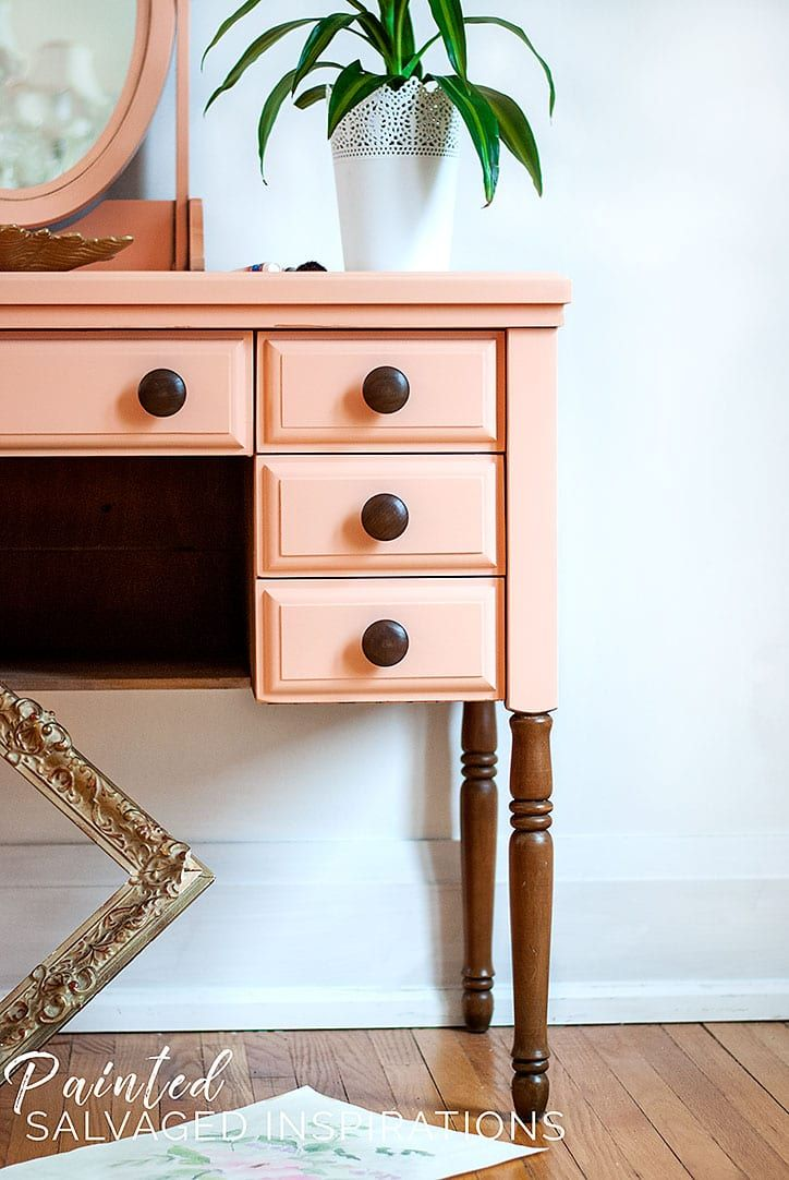 How to paint furniture without brush marks in 2020 with
