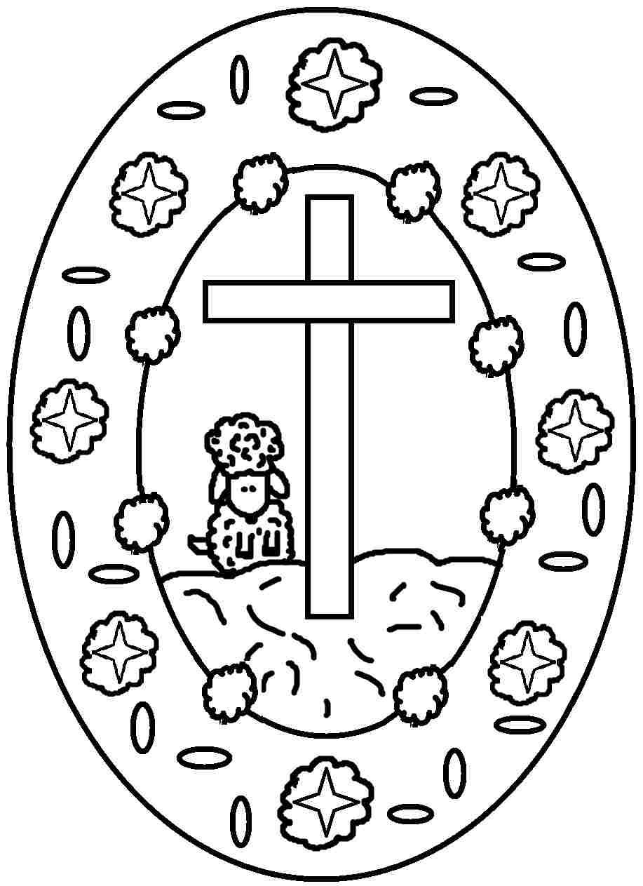 Printable Free Coloring Pages Easter Egg For Girls Boys 17057 Easter Coloring Pages Cross Coloring Page Easter Christian