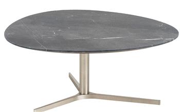 Metalen poot u salontafel zwart per set puurteak tuinmeubelen