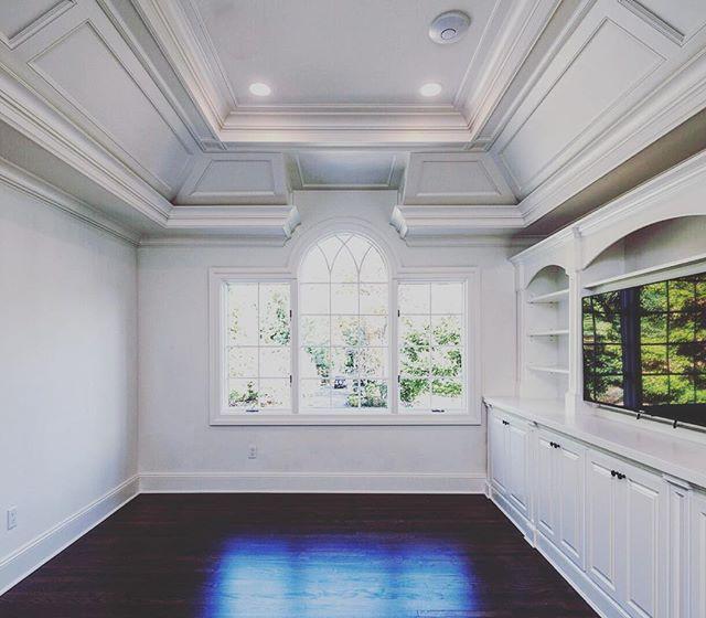 A different view of the Rio Vista master sitting room. #white #room #interior #design #nj #builder