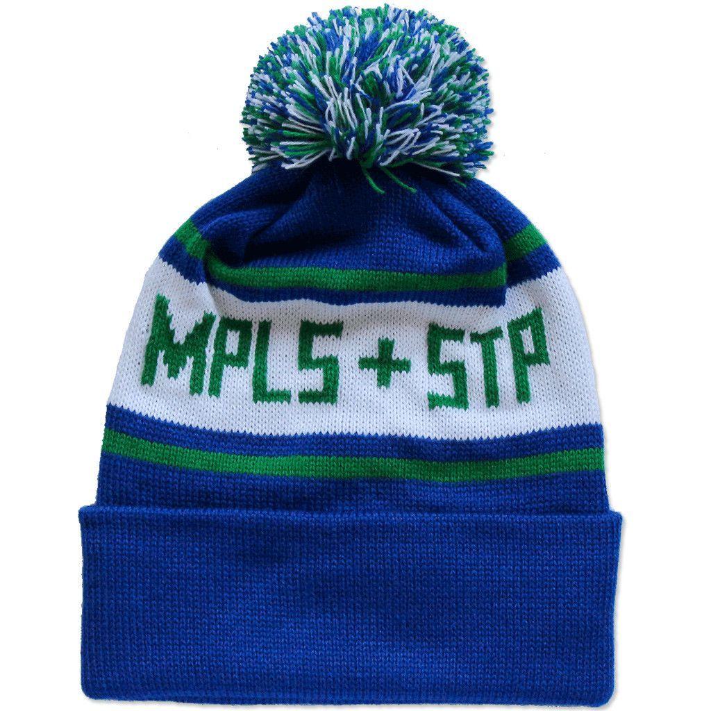 Blue   Green MPLS + STP Winter Kit Stocking Hat  8159b415e3c