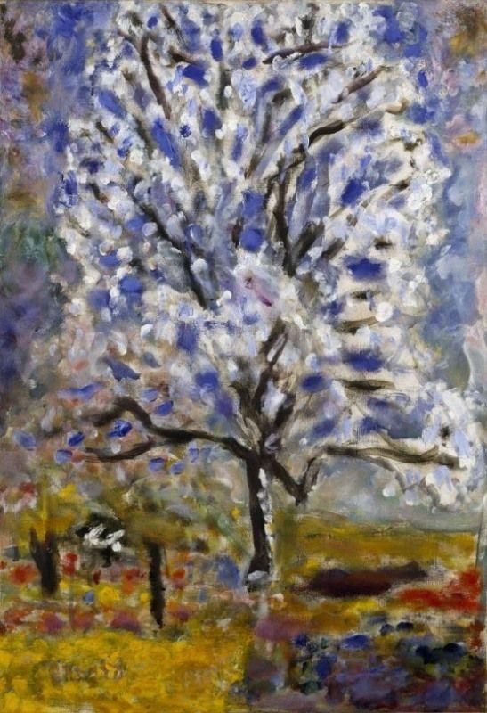Pierre Bonnard - Amandier en fleurs (1946) | Pierre bonnard, Art, Post impressionism