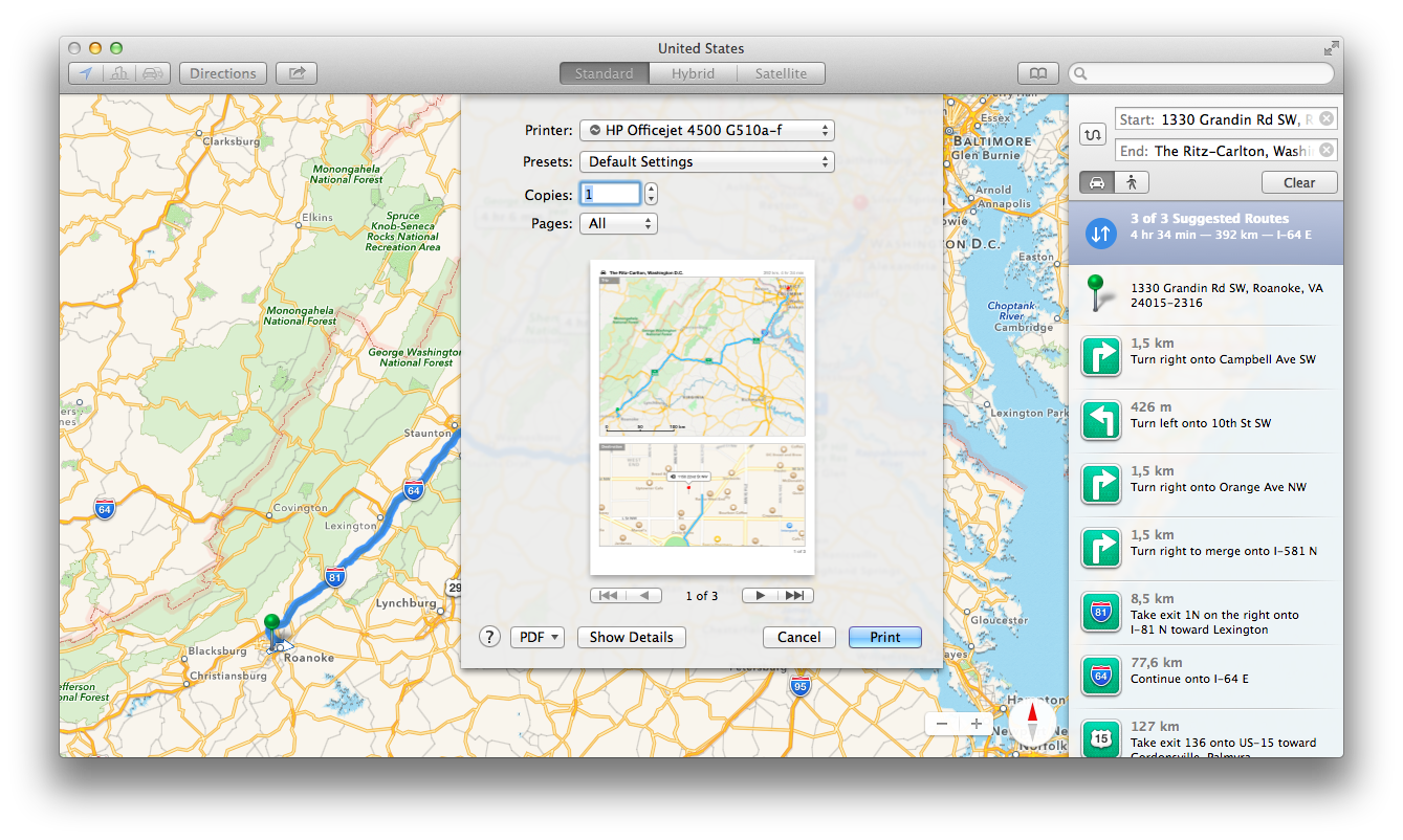 Calendar can now calculate travel times between events › Tips and tricks in Mavericks