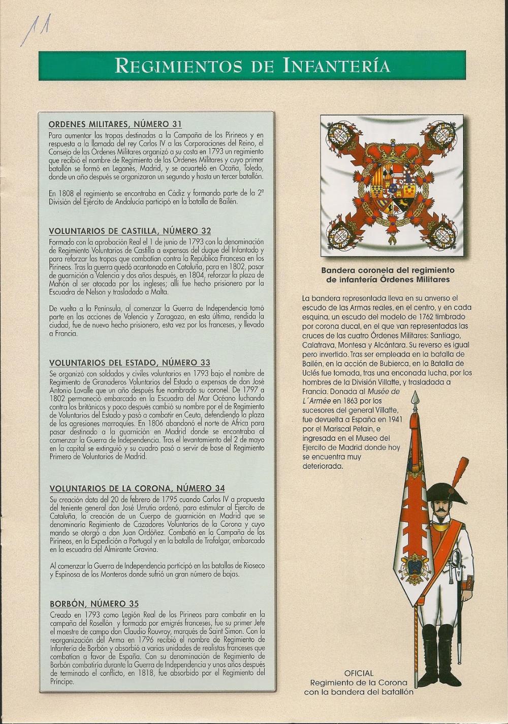 Miniaturas Militares Por Alfons Cànovas El Ejercito Español De 1808 3ª Parte Fuente Ristre Militar Ejercito Infanteria