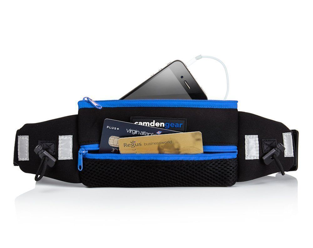 Amazon Com Running Belt By Camden Gear Fits All Iphones And Most Android Smartphones Perfect For Waist Sizes 24 47 In Men A Running Belt Men Waist Pack