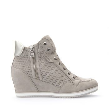 Shop Illusion women's sneakers in grey. Explore the Geox