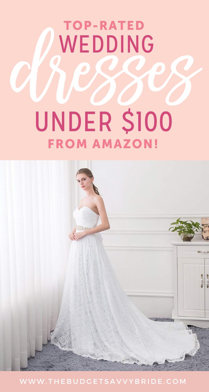 Toprated amazon wedding dresses under diy wedding ideas