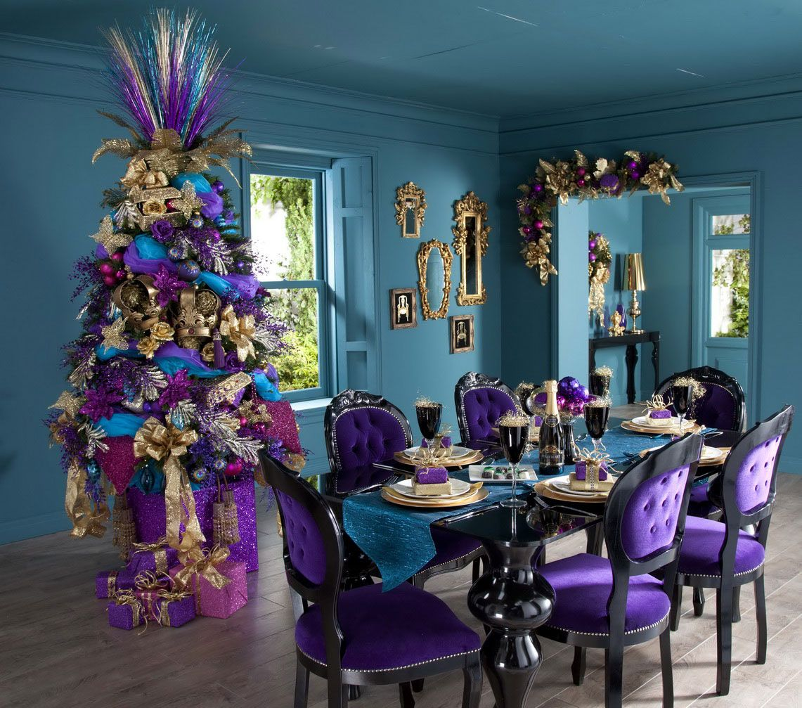 Christmas Decorations Ideas 2014 purple christmas | time for the holidays | christmas trees