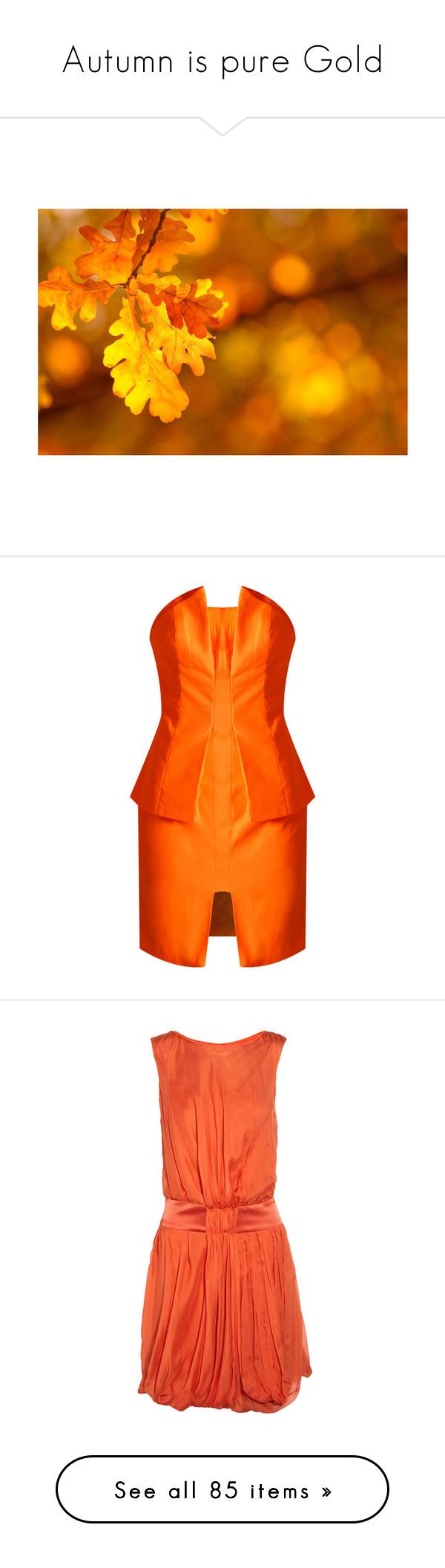 Meer dan 1000 ideeën over Orange Cocktail Dresses op Pinterest ...