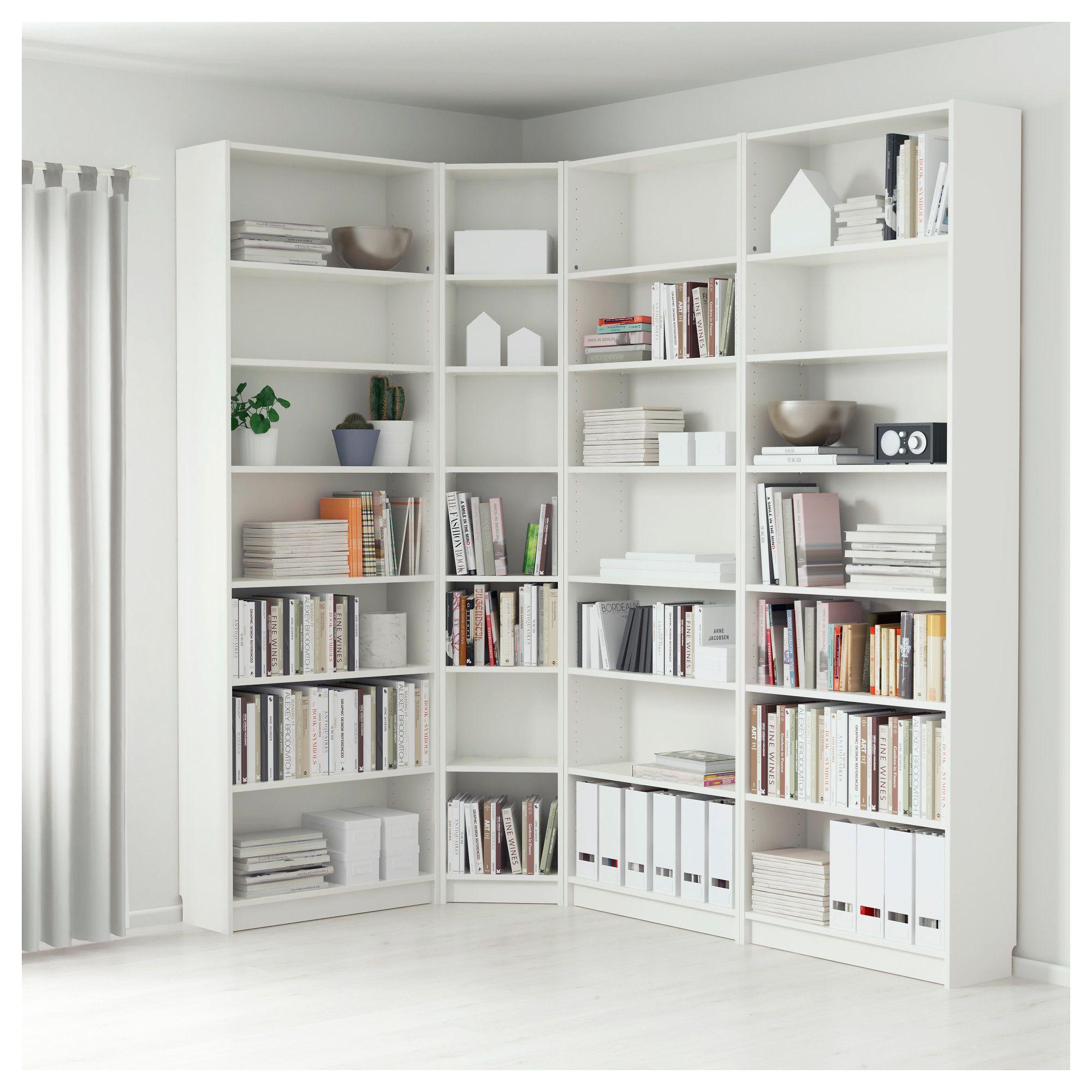 Ikea Billy White Bookcase Home Furniture In 2019 Ikea