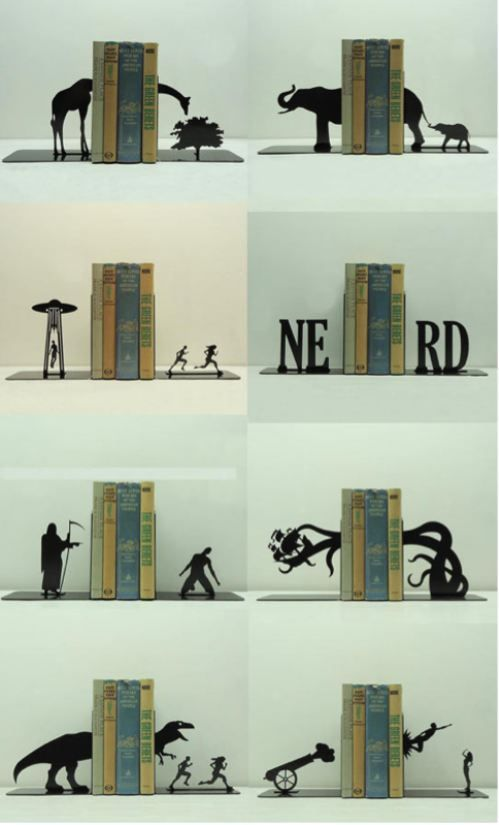 Book Ends For Our Living Room End Tables Bookends Book Holders Cool Stuff