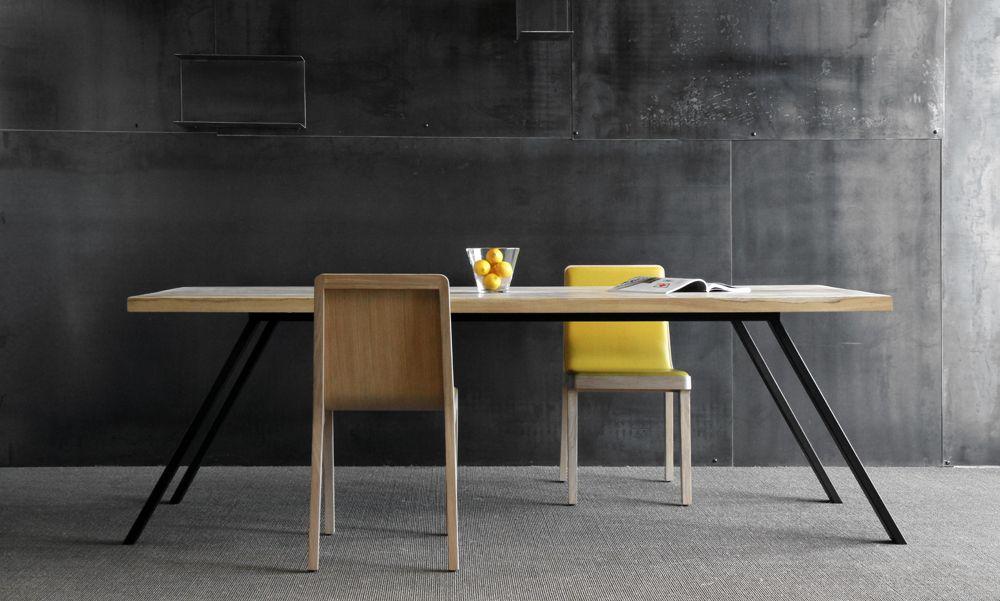 Blunt manufacture biarritz mobilier bois et acier