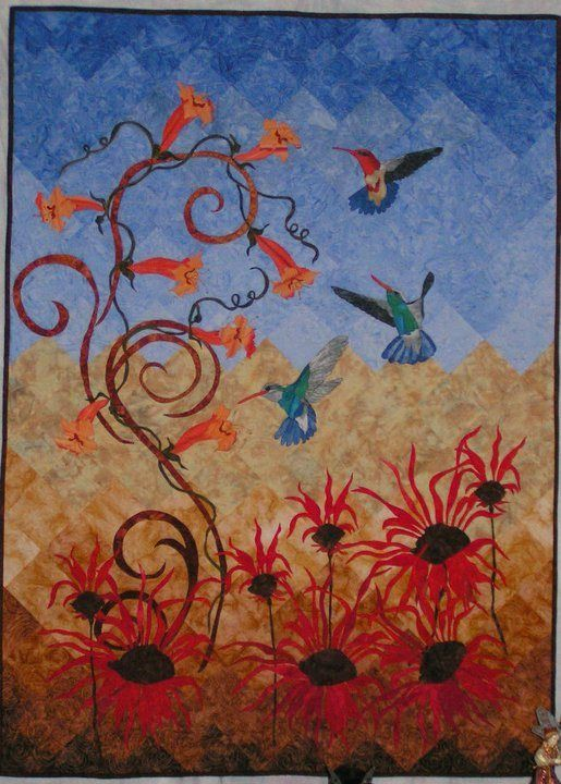Forum Challenge - It's My Nature - Forums - Quilting Daily ... : quilting daily - Adamdwight.com