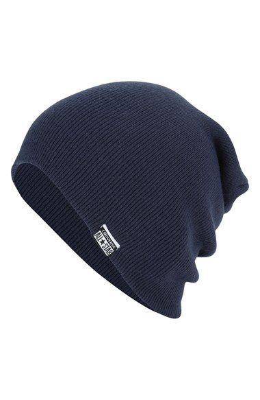 695a28bbf40 Men s Converse Slouchy Rib Knit Beanie - Blue