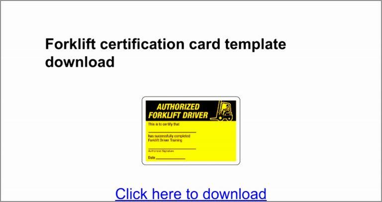 Forklift Certification Card Template Google Docs Printable Forklift Certification Card Template Elegant Doc Certificate Templates Best Templates Card Template