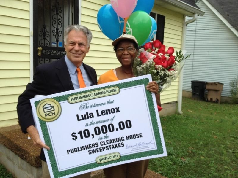 Publishers Clearing House Winners: Lula Lennox from