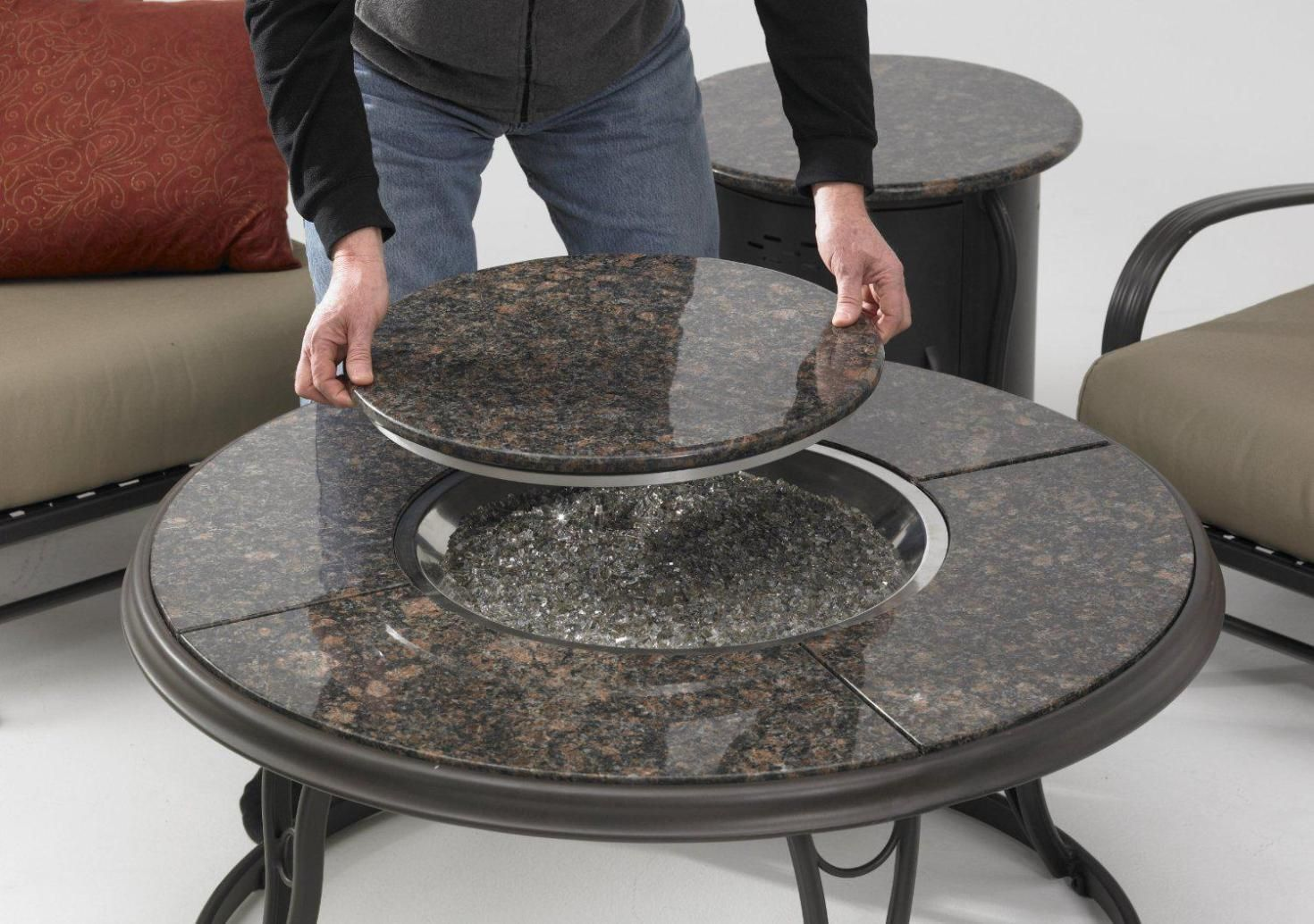 fire pit coffee table indoor modern coffee table amazing fire