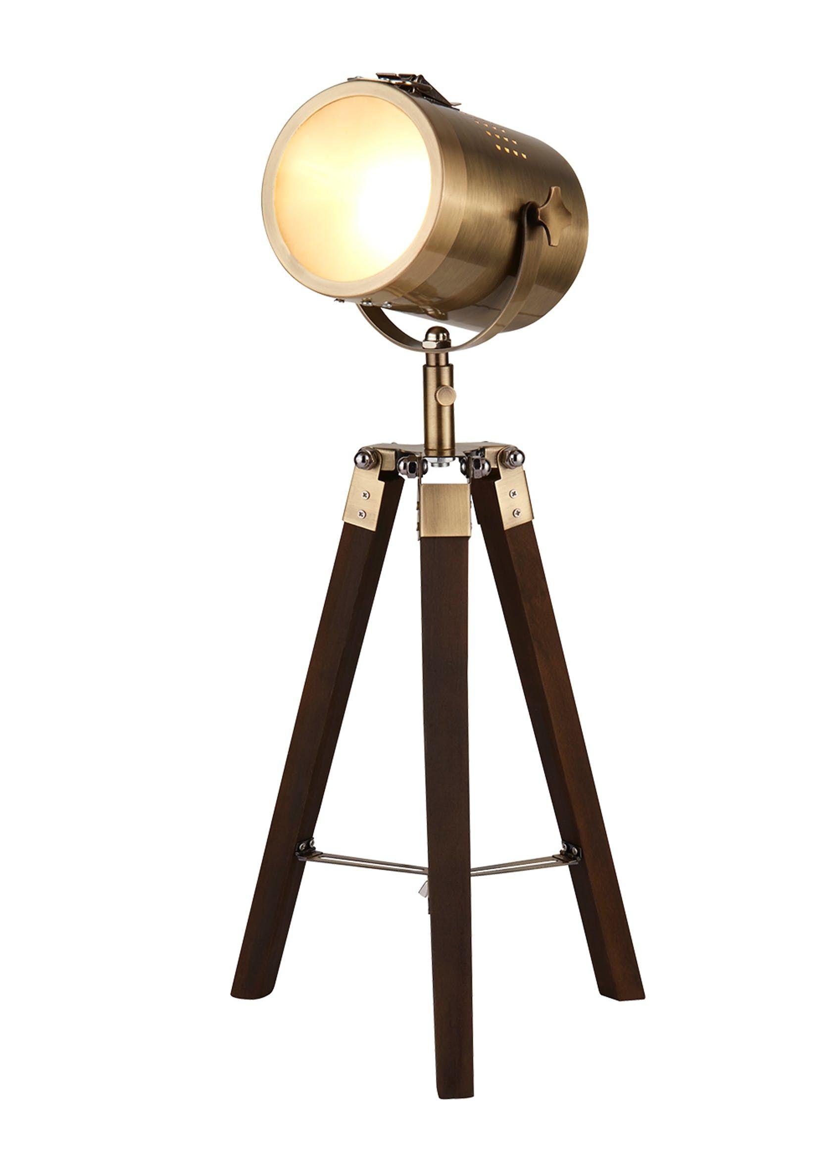 Finn Spotlight Table Lamp H50cm X W23cm Metallic In 2020
