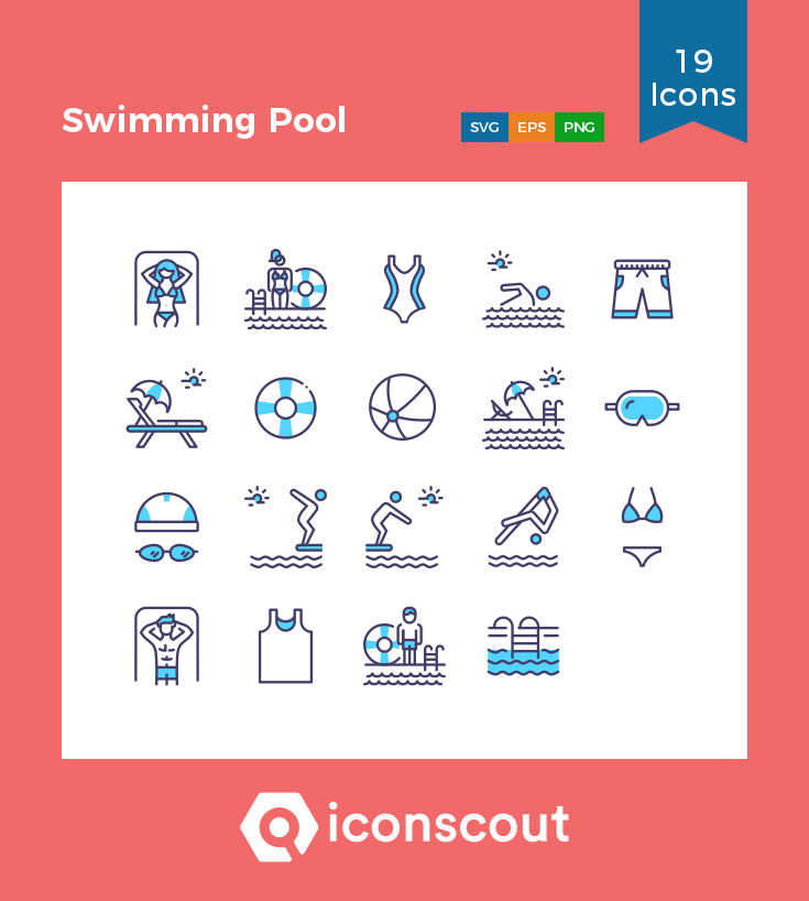 Download Swimming Pool Icon Pack Available In Svg Png Eps Ai Icon Fonts Icon Pack Icon Swimming Pools