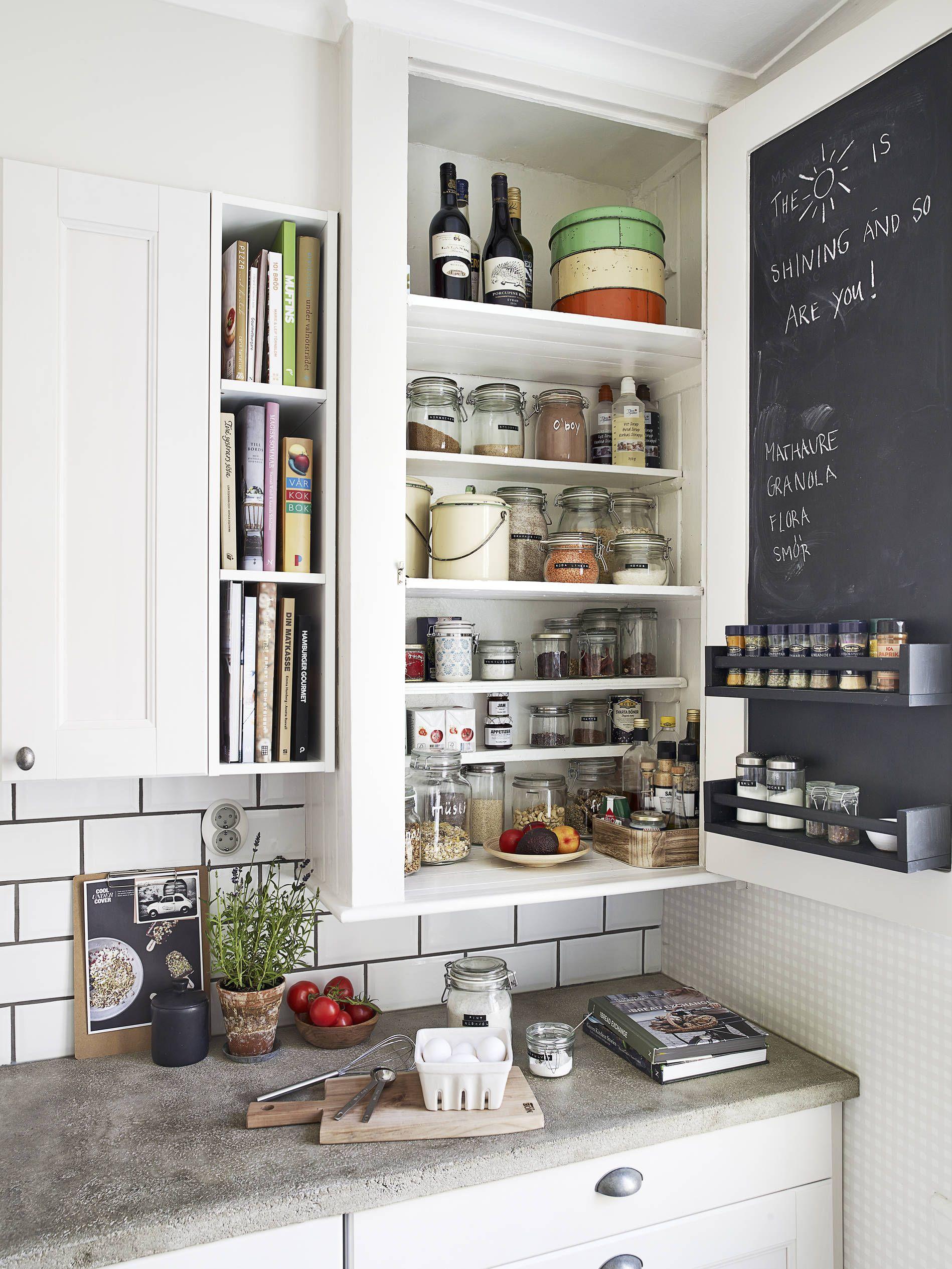 Gut organisierte und konzipierte Kücheneinrichtung. #Küche ...