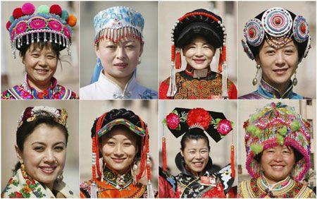 Chinese Ethnic minority groups   Beauty   Ethnic, China, World