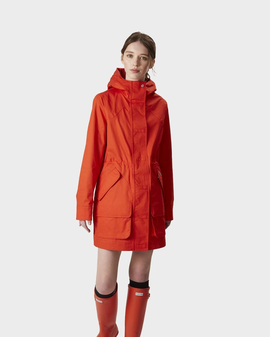 55b498d85327b Buy Hunter Orange Women's Original Waterproof Cotton Hunting Coat. Similar  products also available. SALE now on!