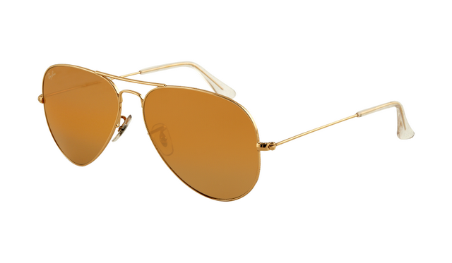 ray ban rb3025 iconic black glass  ray ban rb3025 aviator sunglasses gold frame crystal honey lens