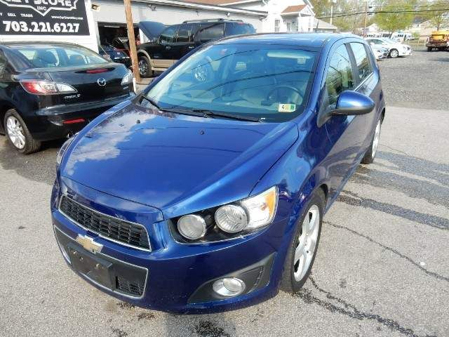 Used Chevrolet Sonic For Sale In Richmond Va Used Chevrolet Sonic