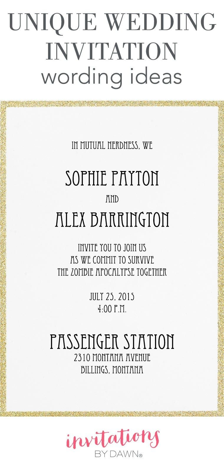 25+ Exclusive Image of What To Say On Wedding Invitations