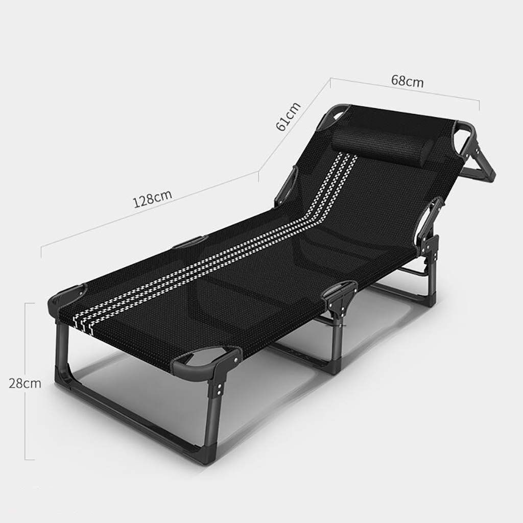 Yxwty Folding Bed Single Bed Lounge Chair Office Cot Backrest Adjustment Increase Increase Low Noise You Can Obtai Lounge Chair Indoor Chairs Chair Bed Ikea