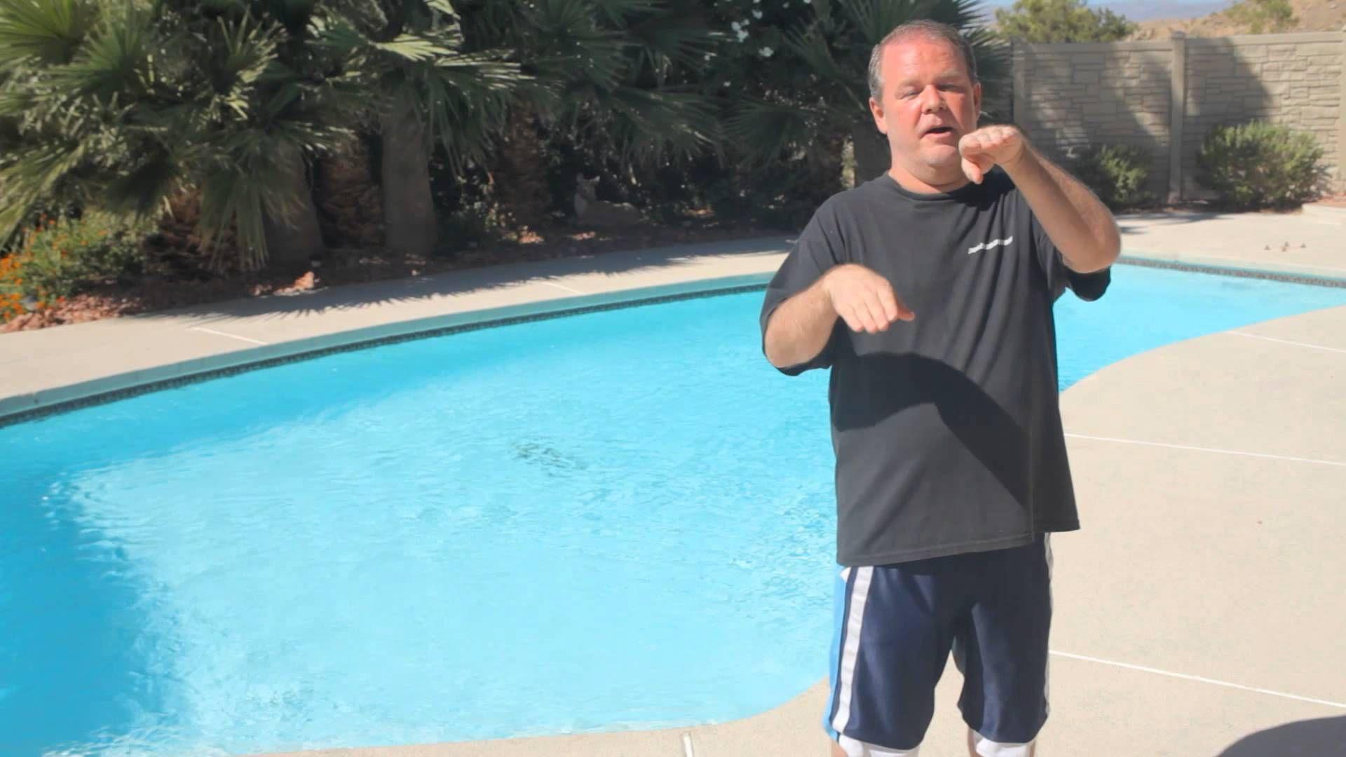 How do i find an inground pool leak pool maintenance