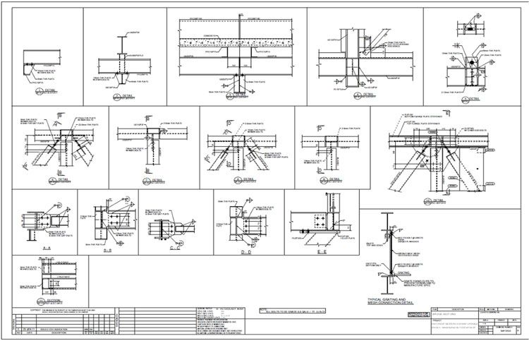 Image Result For Assembly Drawings Of Plate Girder Sign Board